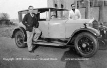Rolls Royce 20hp Hooper Landaulette 1923 with Sir Edward Hulton